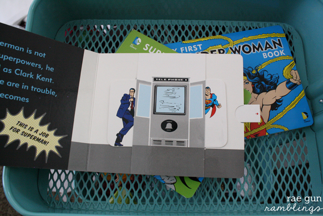 Fun Super Hero board books. My First Superman Book - Rae Gun Ramblings