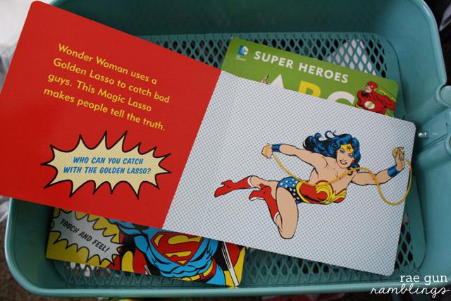 My First Wonderwoman Book - Rae Gun Ramblings