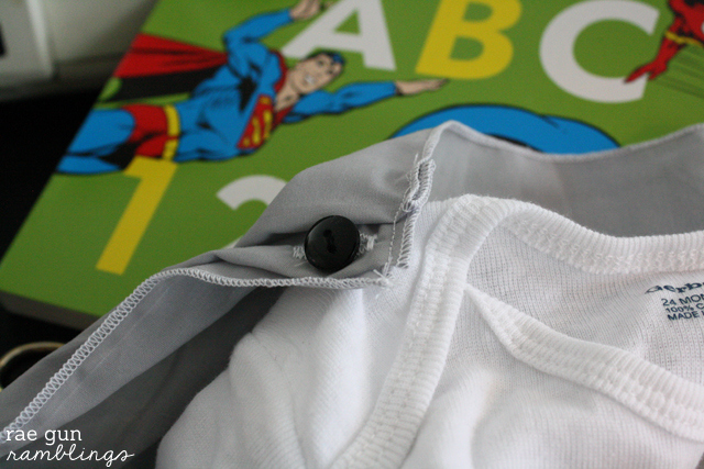 How to make a Super Hero Cape Shirt - Rae Gun Ramblings