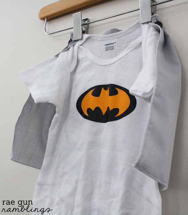Super Hero Cape Shirt or Onesie Tutorial - Rae GUn Ramblings