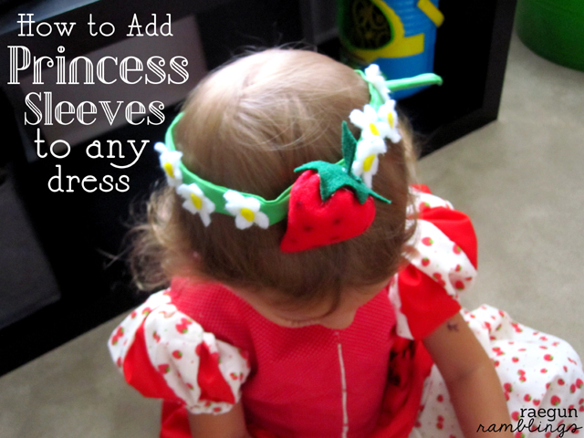 Princess sleeve tutorial the perfect addition to any dress - Rae Gun Ramblings