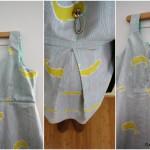 single pleat dress collage at Rae GUn Ramblings