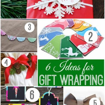 Block Party and Gift Wrapping Ideas Features