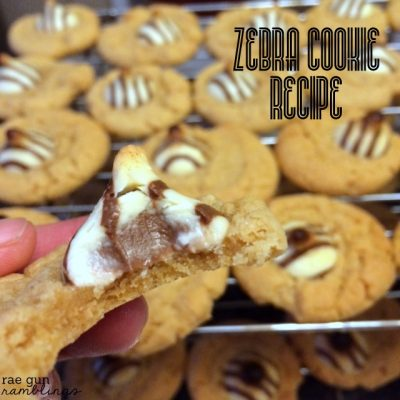 Zebra Cookies Recipe and What's for Dinner