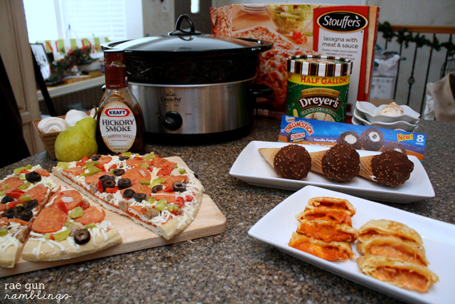 Yummy ideas for football party food and easy lasagna soup recipe - Rae Gun Ramblings #GameTimeGoodies #shop #cbias