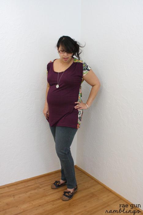 Imagine Gnats' Bess Top Maternity-ized by Rae Gun Ramblings