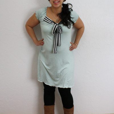 Sew Our Stash: Mint Maternity Dress + More
