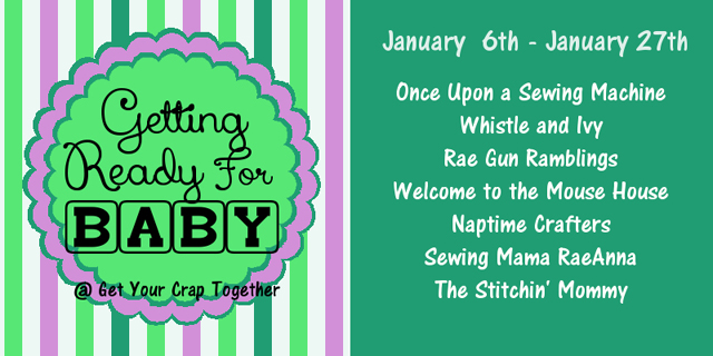 A bunch of great bloggers share tutorials for getting ready for baby and some awesome giveaways - Rae Gun Ramblings