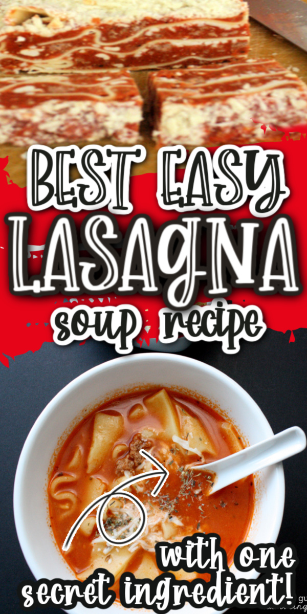 New favorite weeknight dinner recipe. This lasagna soup is SO easy and can be made in the crock pot or on the stove. via @raegun