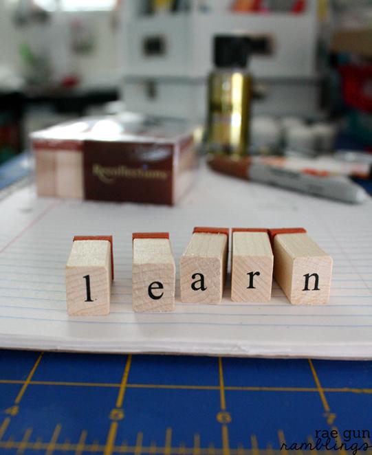 One Little Word: Learn - Rae Gun Ramblings