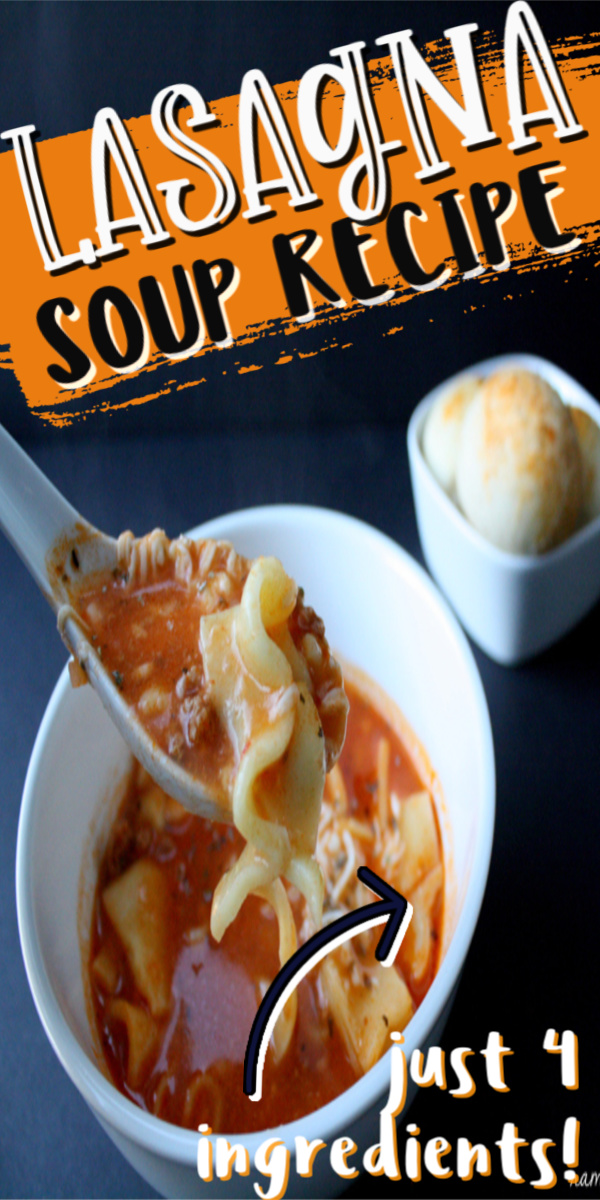 New favorite weeknight dinner recipe. This lasagna soup is SO easy and can be made in the crock pot or on the stove.
