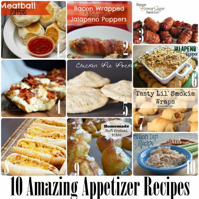 Block Party: Yummy Appetizers Recipe Features