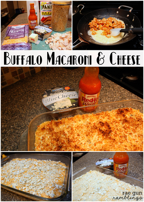 Quick and delicious buffalo macaroni and cheese recipe - Rae Gun Ramblings