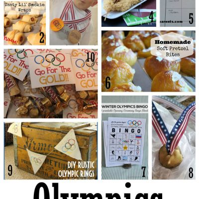 Block Party: Olympic Crafts and Snacks Features