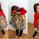 Great girl's sewing patter and Super Hero Comic book headband tutorial - Rae Gun Ramblings