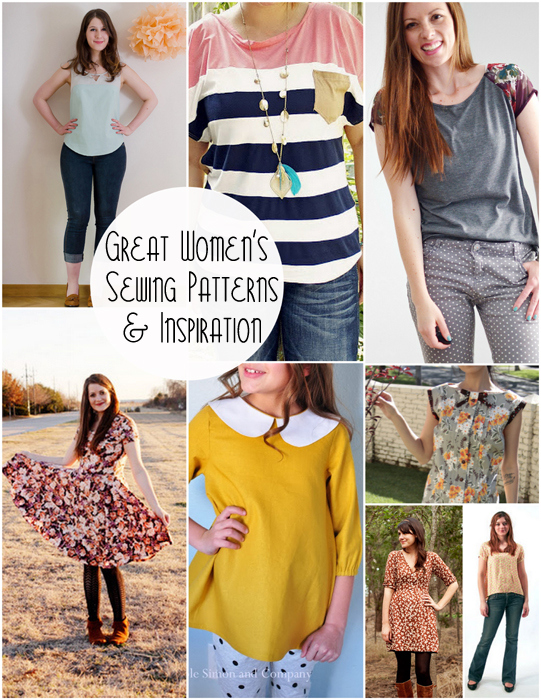 Great sewing patterns and inspiration for women's fashion at Rae Gun Ramblings