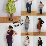 Great ideas for Maternity sewing that last throught your pregnancy at Rae Gun Ramblings
