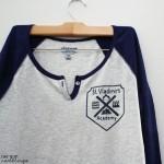 DIY Vampire Academy Shirt Tutorial and St. Vladimir's School crest at Rae Gun Ramblings