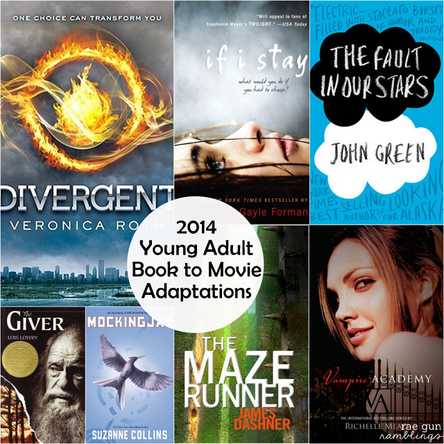 7 YA Books to Movie Adaptations in 2014 - Rae Gun Ramblings