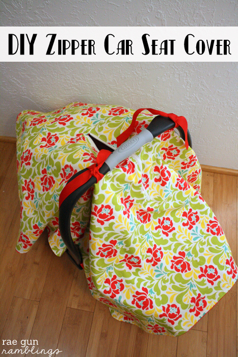 Easy Tutorial For How To Make A Car Seat Cover With Optional Zippered Peep Hole