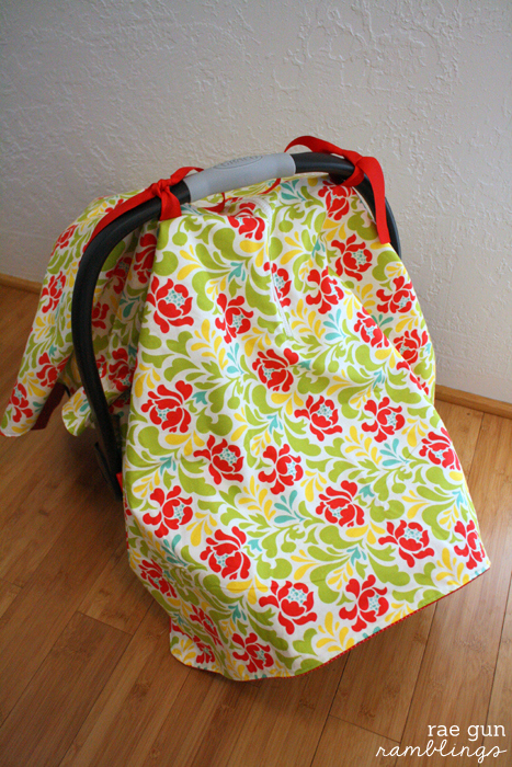 Make your own zippered car seat cover - Rae Gun Ramblings