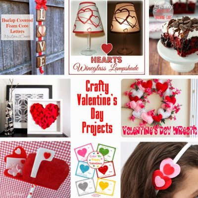 Block Party: Crafty Valentine's Day Projects Features