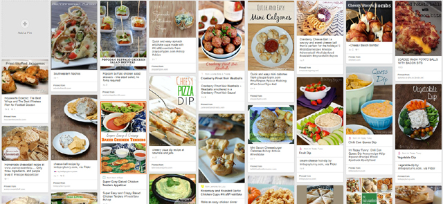 Great collection of appetizers and party food