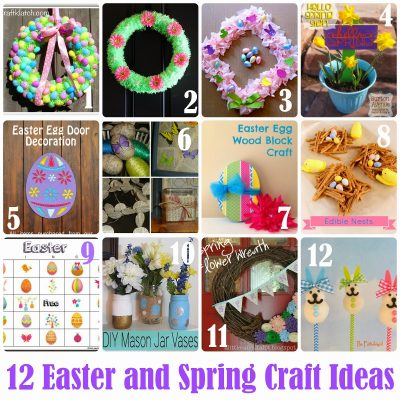 Block Party: Easter and Spring Craft Ideas Features