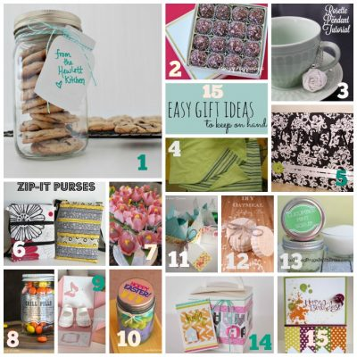 Easy Gift Ideas Features