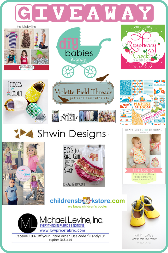 Huge Baby Giveaway and A Recipe