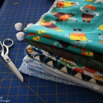 DIY swaddling blankets easy tutorial and the best size for easy wrapping - Rae Gun Ramblings