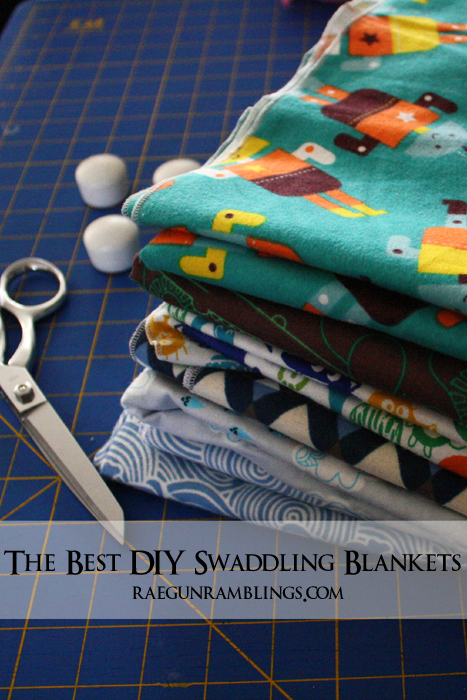 Swaddling And Receiving Blankets Interesting Best Baby Swaddle Blanket Tutorial Rae Gun Ramblings