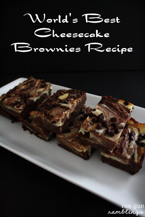My go to recipe for brownies. So good and easy - Rae Gun Ramblings