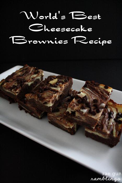 My go to recipe for brownies. So good and easy - Rae Gun Ramblings