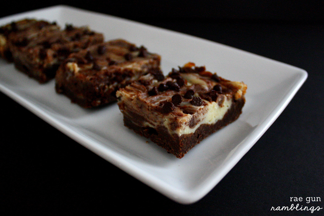 Delicious Cheesecake Swirled Brownies Recipe - Rae Gun Ramblings