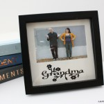 Mother's Day upcycled frame tutorial at Rae Gun Ramblings