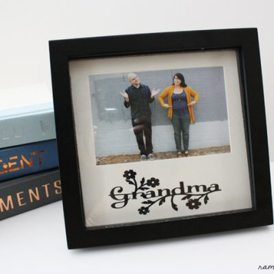 Mother's Day Upcycled Frame Tutorial