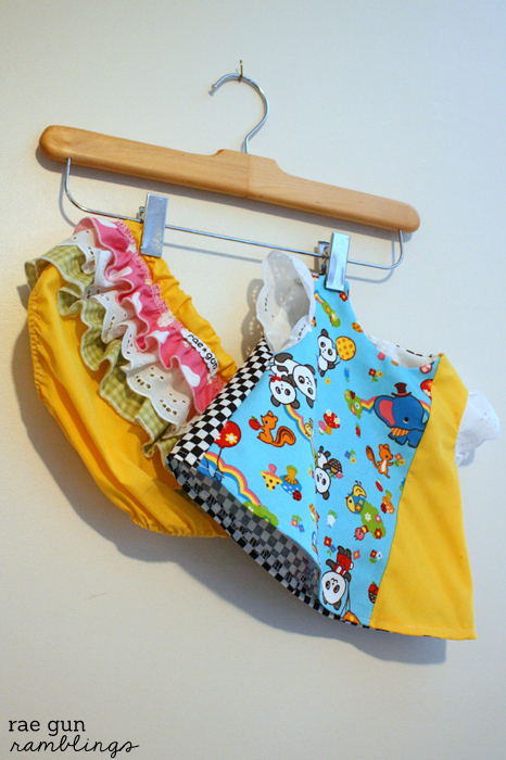 Sew Chibi Baby Shower and Dress Tutorial - Rae Gun Ramblings