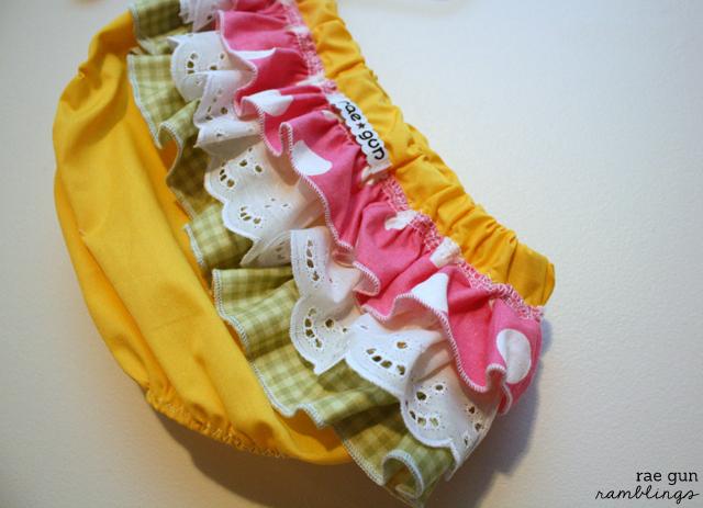 Ruffle Diaper Covers - Rae Gun Ramblings