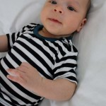 Love this darling little baby shirt sewing pattern. Snappy shirt (how cute are those star snaps!) at Rae Gun Ramblings