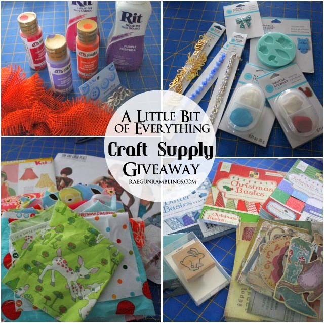 A Little Bit of Everything Craft Supply Giveaway!