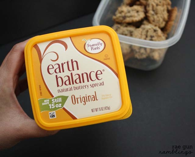 lactation cookies use earth balance instead of butter - Rae GUn Ramblings
