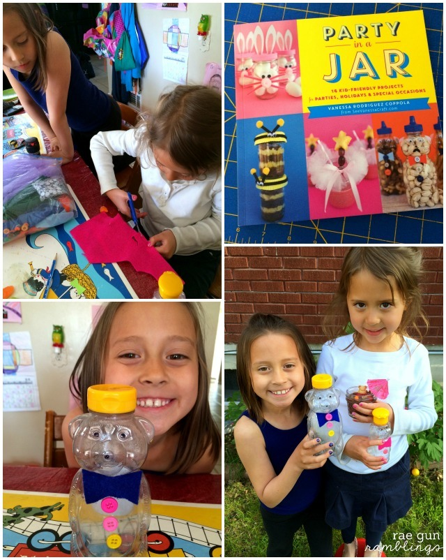 Party in a Jar book review. Adorable book full of kid crafts and recipes - Rae Gun Ramblings
