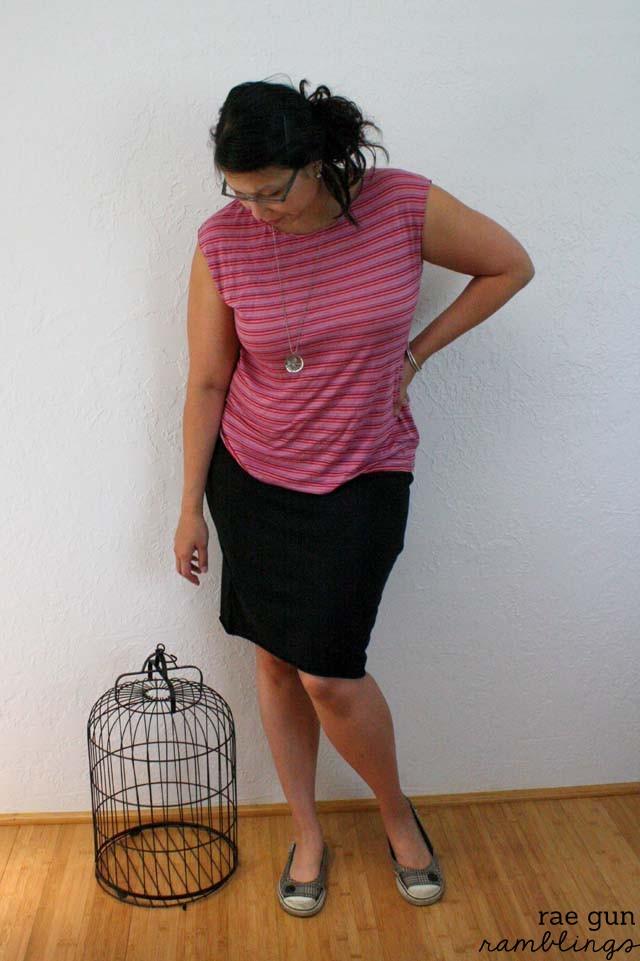 Go To Patterns Casual Lady sewn by Rae Gun Ramblings