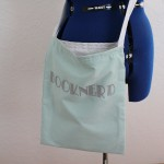 Learn to sew a book bag in 15 minutes at Rae Gun Ramblings