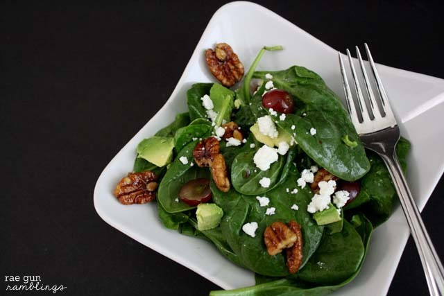 Maple Pecan Salad - Rae Gun Ramblings