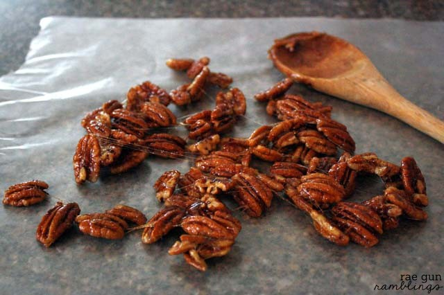 Maple Candied Pecan Recipe - Rae Gun Ramblings