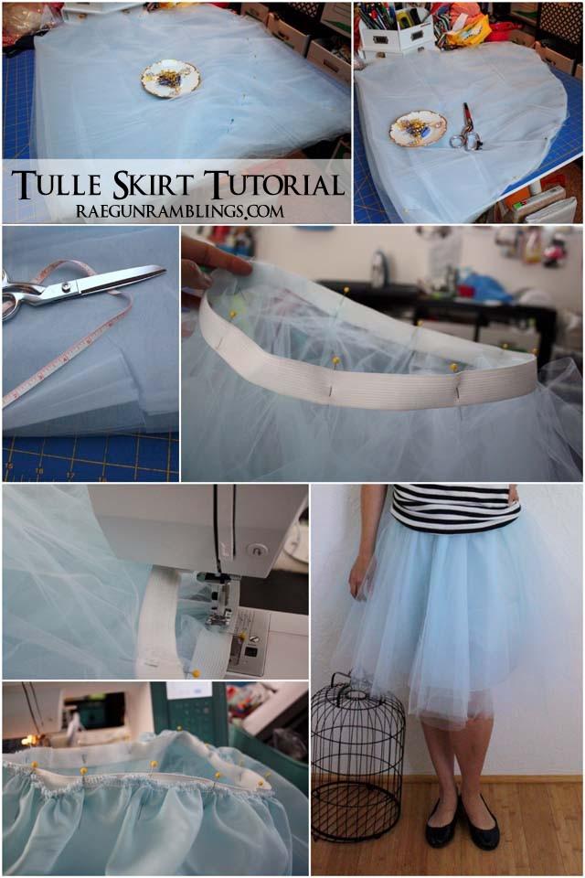 Easy 30 Minute Tulle Skirt Tutorial Rae Gun Ramblings