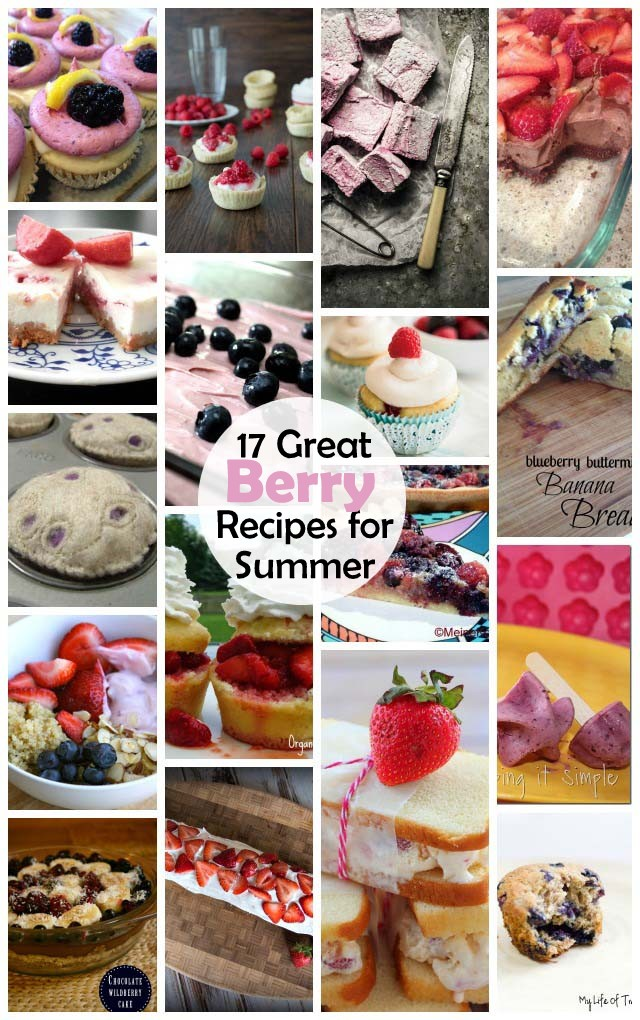 Great collection of berry recipes perfect for the Summer - Rae Gun Ramblings