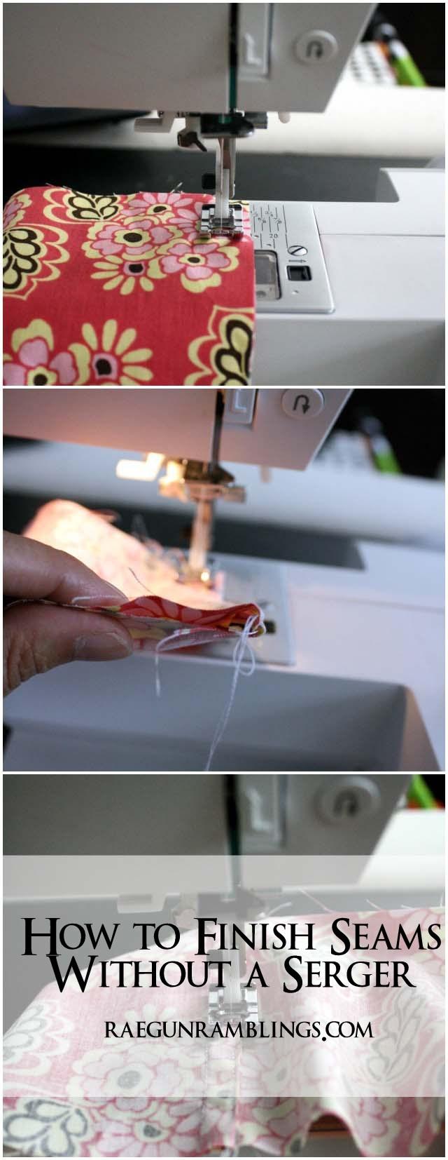 How to sew seams on sheer fabric- Rae Gun Ramblings